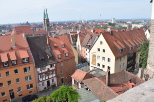 Nuremberg from castle