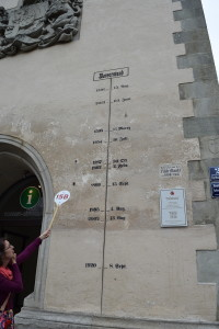 Passau high water marks