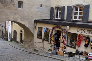 Passau shopping street